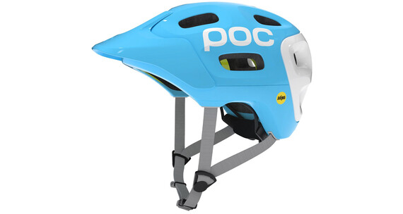POC Trabec Race MIPS Helmet Radon Blue